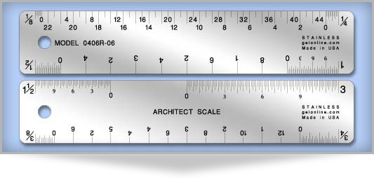 How To Use An Architectural Or Scale Ruler